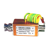Single Video Surge Protector Signal Surge Protector Surge Monitor 20KA Video Lightning Protection