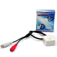 CCTV Microphone audio Pickup Device High Sensitivity 12V DC sound Monitor audio listening devices