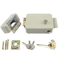 Anti-theft Electric Controlled Lock , Electric Rim Lock