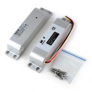 Surface Mounted Electric Bolt Lock DC12V Fail Safe for Wooden Door Deadbolt NC Mode Fail Safe Electronics Door Bolt