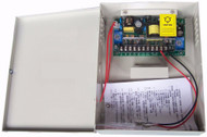DC12V/5A Delay Output Power Supply with Back-up Battery Interface for Door Access Control System