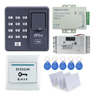 RFID reader Fingerprint Access Control system Electronic with Drop Bolt Lock +remote control+power supply+exit button+door bell