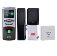 Bio Fingerprinter Rfid Keypad Wireless Electric Lock Easy to install Access Control Time Attendance Kit