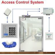 ID/EM Access Control System for Frameless Glass Door Card Reader & Keypad Lock