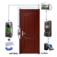 RFID Fingerprint In/out Access Control Door Access Control System