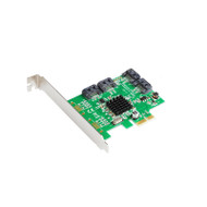 Marvell 88SE9215 4 Ports SATA 6G PCI Express Controller Card PCI-e to SATA III 3.0 converter PCI low profile bracket SATA3.0