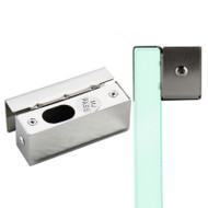 Door Stainless Steel Bracket Clamp for Frameless Glass Door Bolt Lock
