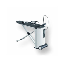Fashionmaster Ironing System Lotus Ironing Board Cover, White/Black