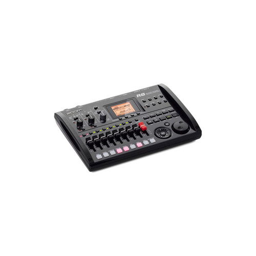 Zoom R8 8-Track Digital Recorder - Interface - Controller - Sampler