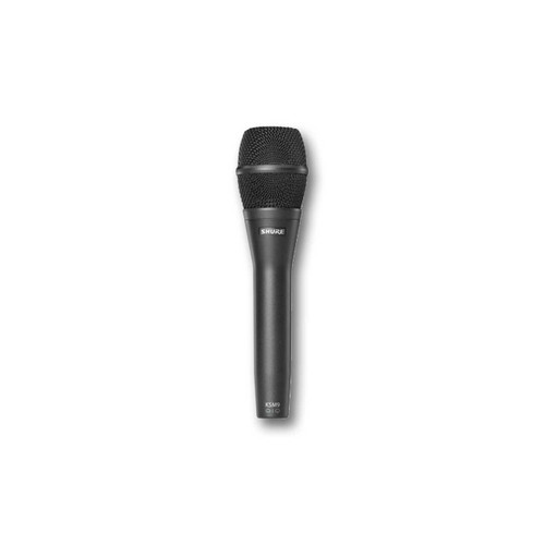 Shure KSM9 Cardioid & Supercardioid Handheld Condenser Microphone (Charcoal Gray)