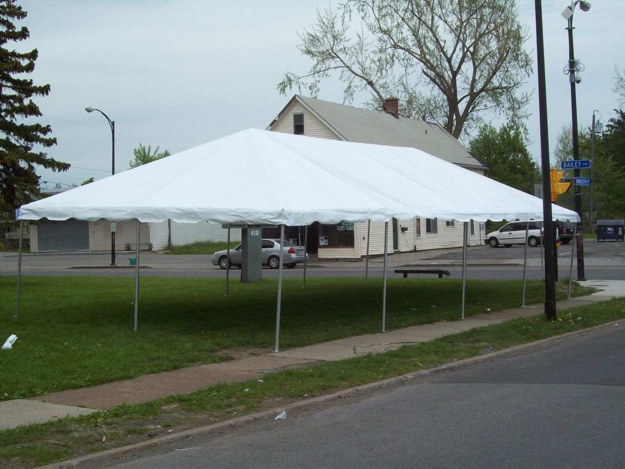 20 x 40 West Coast Frame Canopy Tent Rental Starting At: - ABCWNYrental