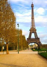 Selfie Booth Eiffel Tower Backdrop