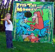 Feed The Monkey Frame Game 1