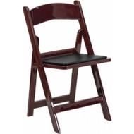 Mahogany Resin Chair