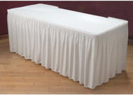 13' White Table Skirt Linen(Tablecloth NOT included) Rental Starting At: