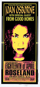 Joan Osborne Poster Original Signed Mark Arminski Silkscreen 1996
