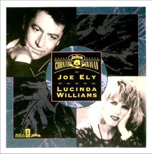 "Joe Ely Lucinda Williams 1993 Country Caravan Concert Tour Poster 22"" x 22"" #6"