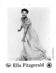 "Original Ella Fitzgerald 4"" x 5"" b&w Glossy Photo Glamorous Ella Not a Copy"