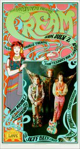 Cream John Mayall's Bluesbreakers w Jeff Beck Saville Theater London 1967