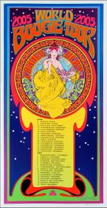 Canned Heat Poster 2005 World Boogie Tour Original Signed Litho Bob Masse