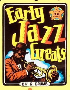 R. Crumb Early Jazz Greats Card Set
