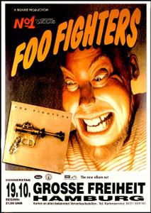 Foo Fighters German album poster German Bus Side