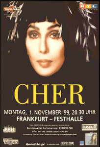 Cher Foreign Poster 11/1/99