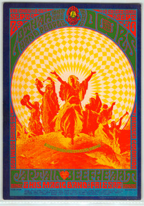 The Doors, Lothar and the Hand People, Captain Beefheart Original Handbill