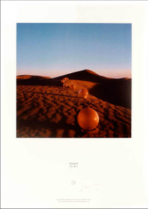 """The Nice """"Elegy"""" Poster Fine Art Lithograph Signed by Storm Thorgerson"""