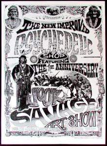 Rick Griffin Poster Psychedelic Shop Art Show Vintage 1967 Printing MINT