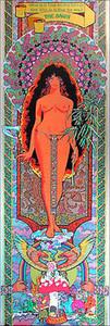 """Tower Records Original Poster """"The Dawn"""" Berkeley 1972 Rare Frank Carson"""