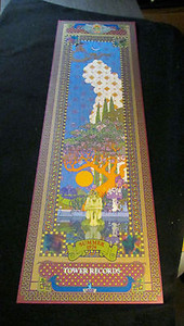 "Tower Records Original Calendar-style Poster ""Summer 1974"" Rare Frank Carson NM"