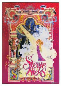 "Stevie Nicks Fan Poster ""Celtic Light"" Original Printing Signed by Bob Masse"