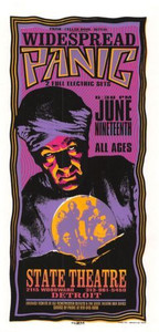 Widespread Panic Original Poster State Theater 1996 Handbill Mark Arminski NM