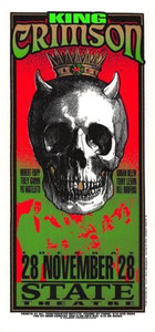 King Crimson Original Poster Handbill State Theater 1996 Mark Arminski NM