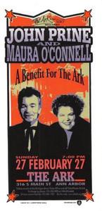 John Prine Original Poster Handbill Ark Benefit 2000 Mark Arminski Handbill