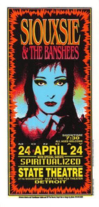 Siouxsie & the Banshees Original Poster Handbill 1995 Mark Arminski Handbill NM