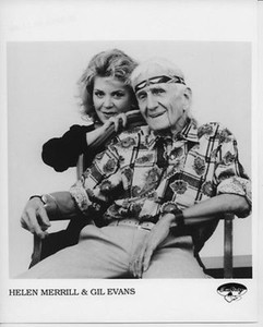 Helen Merrill & Gil Evans Original Vintage Emarcy Records 8x10 Press Photo 1988