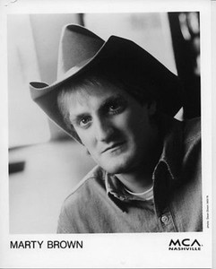 Marty Brown Original Vintage 8x10 Press Photo by Dean Dixon for High & Dry Debut