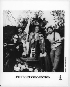 Fairport Convention Original Vintage Island Records 8x10 Press Photo Adrian Boot