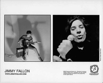 Jimmy Fallon Original 2002 Dreamworks Records Vintage 8x10 Press Photo Mick Rock