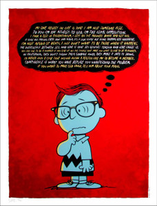 Woody Allen Poster Gallery 1988 Rare Red Variant Sold Out Just 30 by Todd Slater