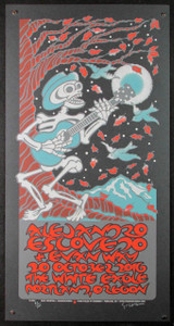 Alejandro Escovedo Poster Evan Way Portland 2016 Hand Signed by Gary Houston