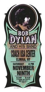 Bob Dylan Original Poster Handbill Coach USA Center NY 2002 Mark Arminski NM