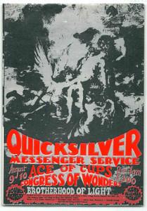 Quicksilver Messenger Service Original Handbill Sound Factory Sacramento 1968