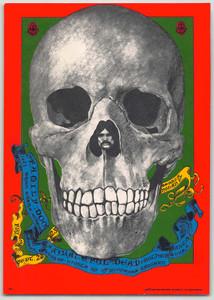 FD 82 Grateful Dead Original 1967 1st Printing Family Dog Postcard Pristine MINT