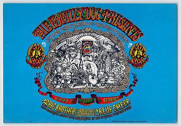 FDD 01 Big Brother Family Dog Denver Handbill Blue Cheer Opening Night 1967 MINT