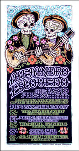 Alejandro Escovedo Poster David Pulkingham Signed Silkscreen Gary Houston