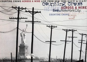 Counting Crows Across A Wire Live in NYC DGC/MTV Release Promo Postcard 1998 5x7