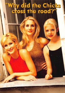"Why did The Chicks Cross the Road Dixie Chicks Promo Postcard 1997 4"" x 6"""